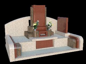 墓石No.1